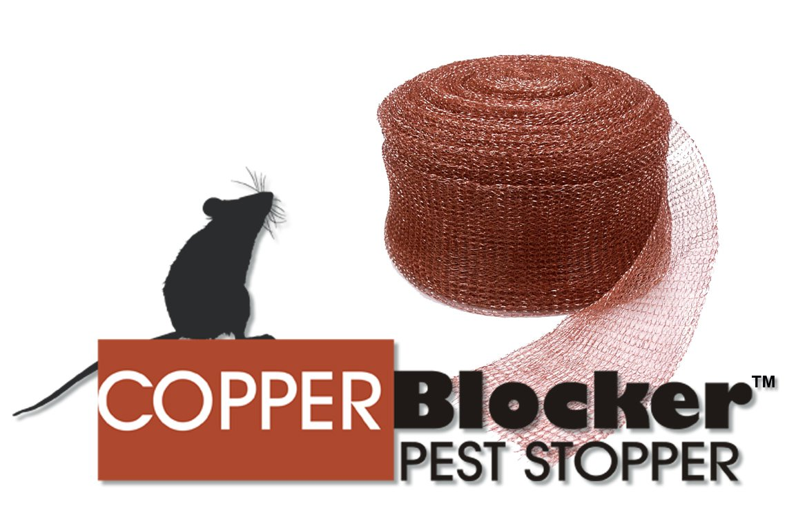 Copper Blocker Pest Stopper 100ft Roll