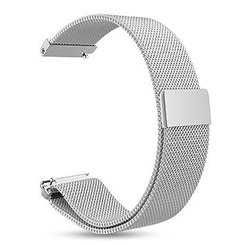 Fintie Bracelet pour Garmin Vivoactive 3 / Vivomove HR/Forerunner 645 Music/Forerunner 245
