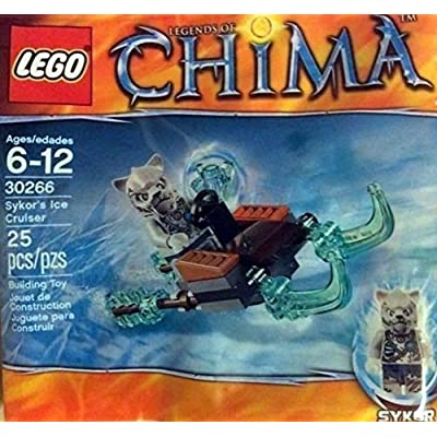 Lego, Legends of Chima, Skyor's Ice Cruiser (30266) Bagged: Toys & Games