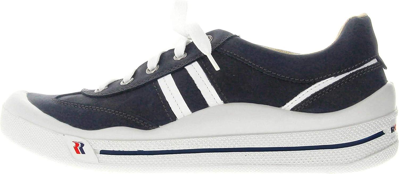 Romika Tennis Master 220 - Zapatillas deportivas para hombre, color azul, talla grande, 41010 96 503