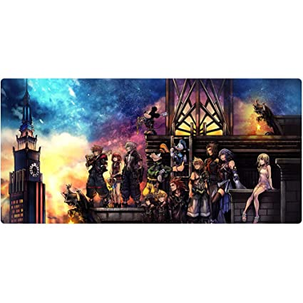 Gaming Mouse pad Waterproof Mouse pad Laptop, AGW Gaming Mouse pad Anti-wear Stitching Edge Lengthened Suitable for PC Smooth Fabric 100x50, 120x60