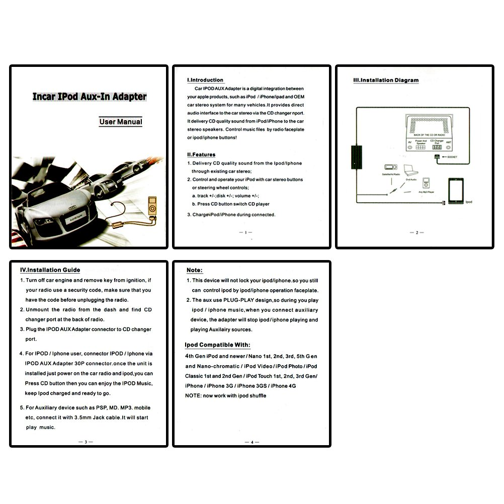 Ipod Touch 5 Wiring Diagram Manual E Books Libraryhonda Iphone Car Integration Kit System Module Radio Adapter