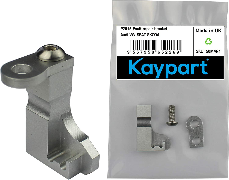 CODIRATO P2015 Repair Bracket Aluminum Intake Manifold Repair Kit for Volkswagen Audi Skoda and Other Cars
