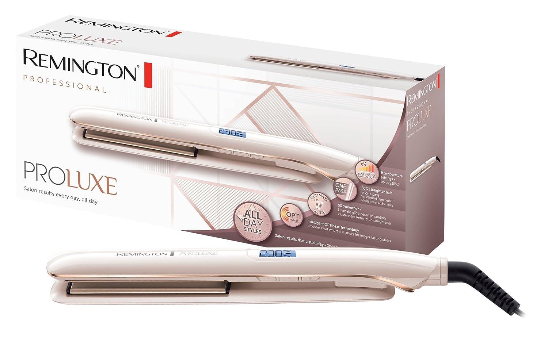 Alisador de pelo Remington S9100 Proluxe, oro rosa: Amazon.es: Salud y cuidado personal