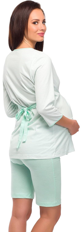 Be Mammy Damen Stillpyjama 1L6S2