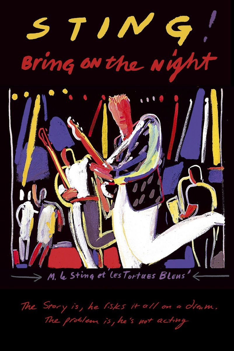 Sting  Bring On The Night  DVD   2005   Amazon.co.uk  Miles A. Copeland  III 7703168f1a