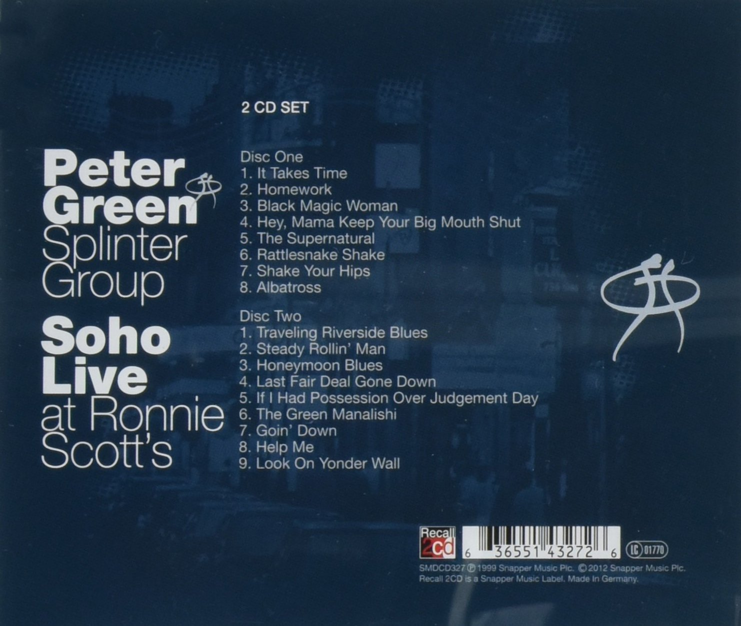 CD Album Peter Green Splinter