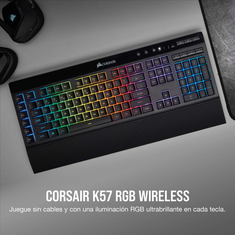 Corsair K57 RGB Wireless - Teclado Para Juegos ...