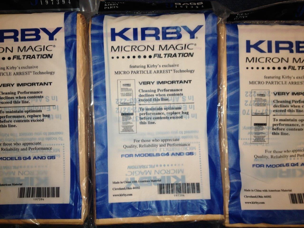 Acquisto Kirby sacchetti per aspirapolvere Micron Magic (9x) Prezzo offerta