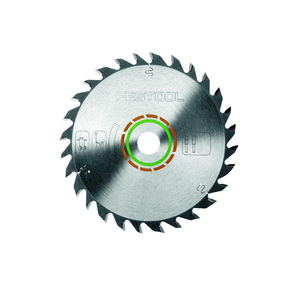 Festool Kreissä geblatt fü r alle Holzwerkstoffe (Durchmesser 160mm, Schnittbreite 2,2mm, 28 Zä hne - Form W, HW 160 x 2, 2 x 20 W28), 496302 160x2 2x20 W28