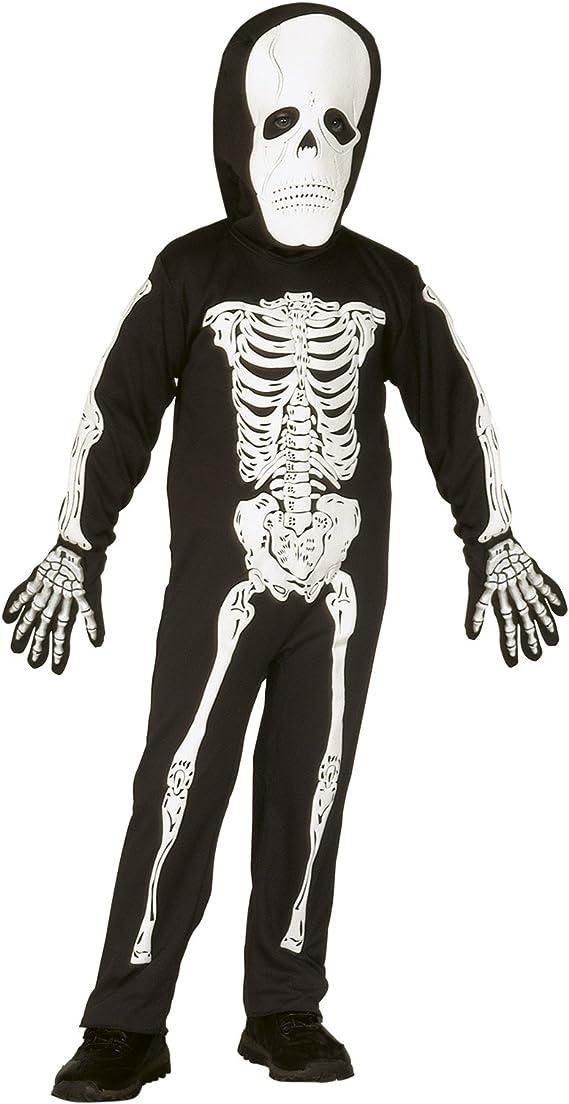 Vari Disfraz Halloween de niño Disfraz Esqueleto Huesos * 21826 ...
