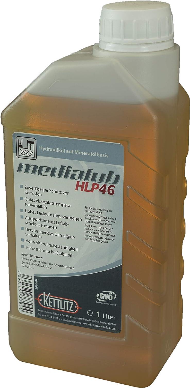 Kettlitz Medialub Hlp 46 Hydrauliköl Auf Mineralölbasis 1 Liter Gebinde Baumarkt