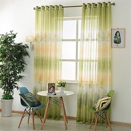 GUOCAIRONG® Tulle Tende Tende per finestra per la sala da pranzo ...