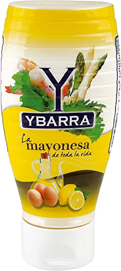 Mayonesa ybarra plastico 500ml: Amazon.es: Alimentación y bebidas