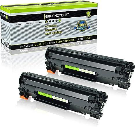Amazon.com: CRG-126 126 128 - Cartucho de tóner láser para ...