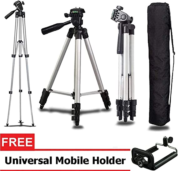 Rextan 3110 Portable Foldable Mobile Camera Tripod Complete Tripod Units