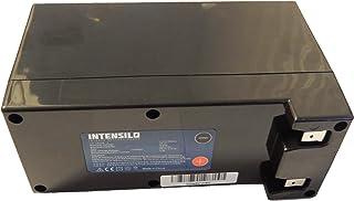 INTENSILO Li-Ioni Batteria 9000mAh (25.2V) per Robot Tosaerba Ambrogio L300 Carbone, L300 Elite, L300 Elite 1B Come Zucchetti CS-C0106-1.