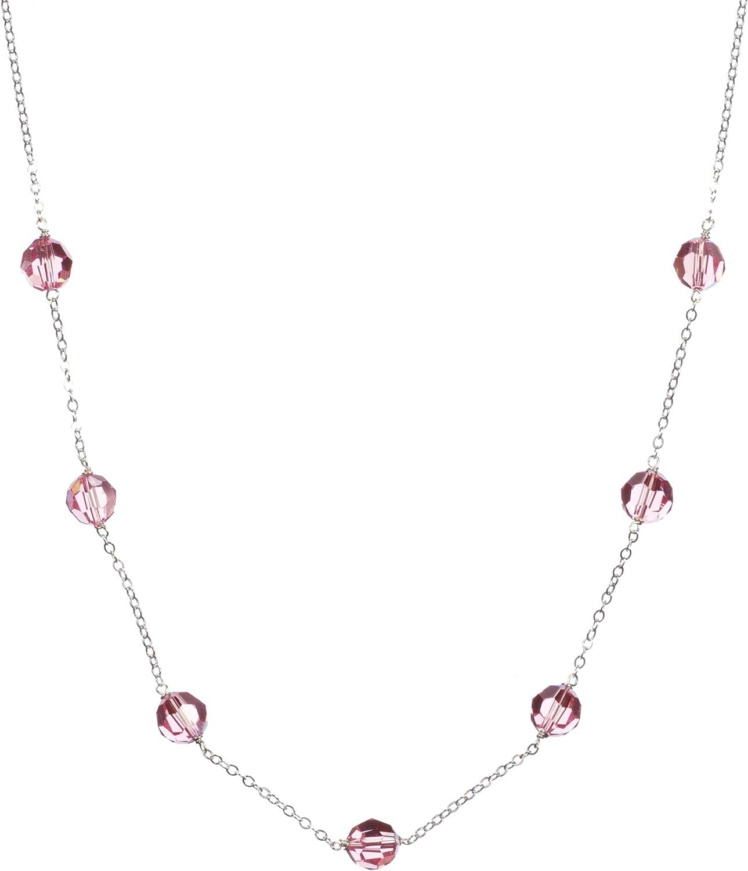 Amazon.com: Sterling Silver with Crystallized Swarovski Elements ...