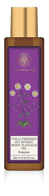 Forest Essentials Narayana Ayurvedic Body Massage Oil, 200ml