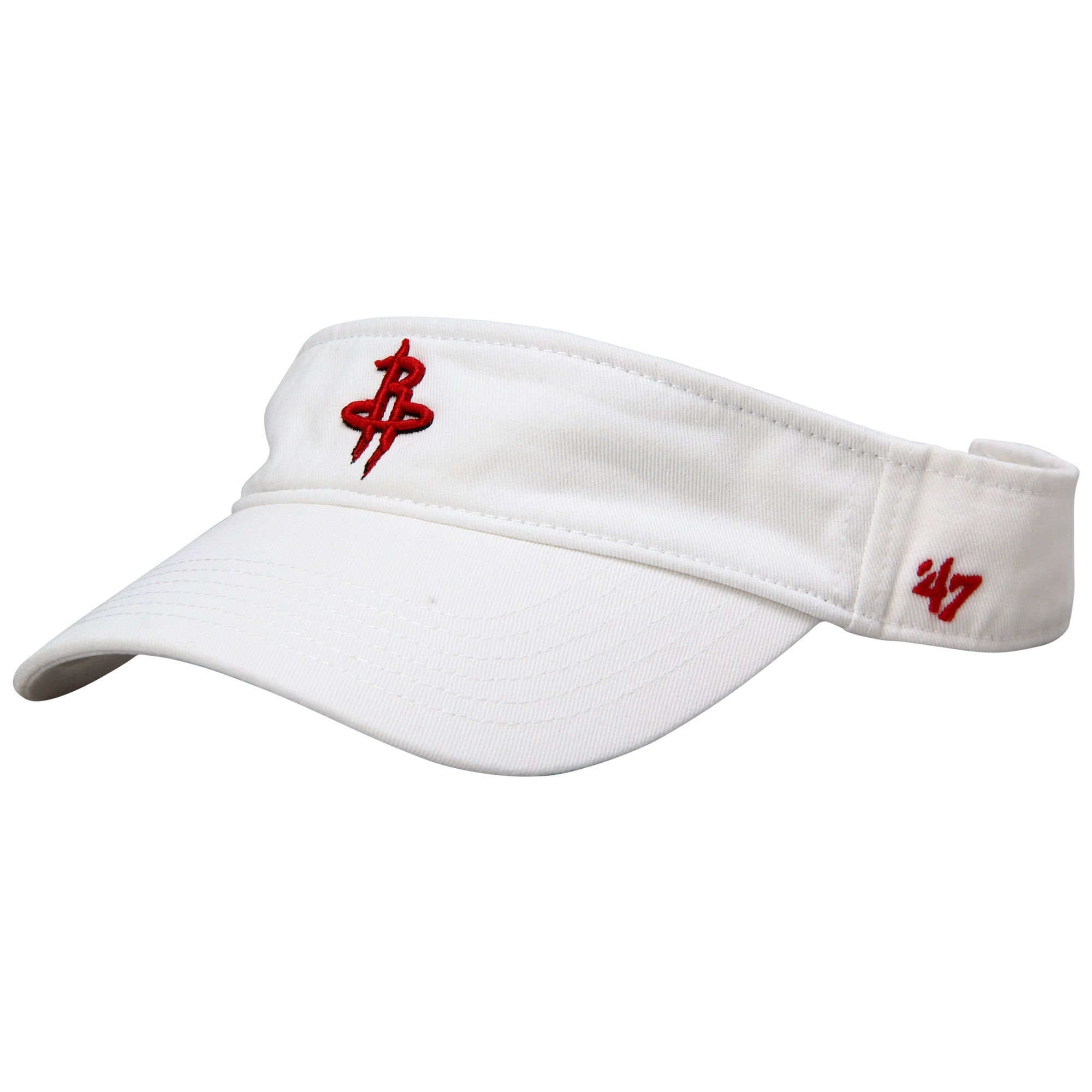 Houston Rockets '47 Brand Women's Visor White