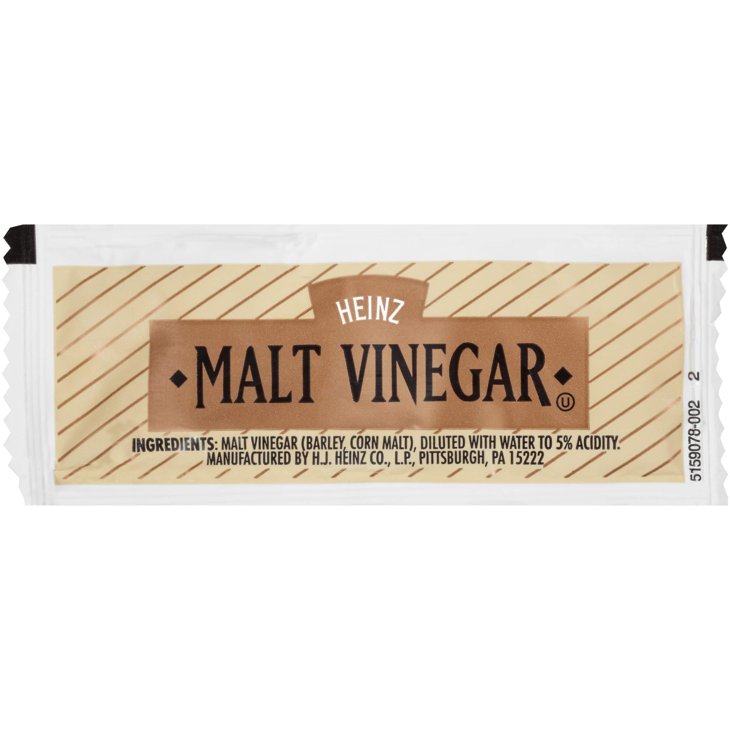 Heinz Single Serve Malt Vinegar, 9 grams Packets (Pack of 200). by Heinz