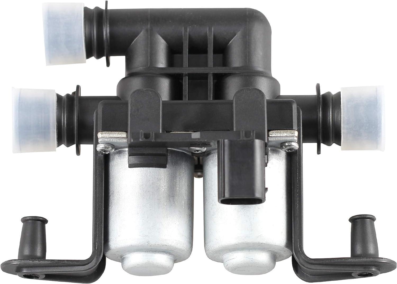 FOLCONROAD # 64 11 6 906 652 Heater Control Valve Solenoid for BMW E60 E63 E64 E65 E66 US Wearhouse