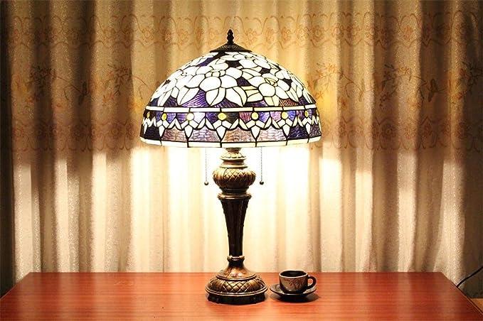 Toym uk 16 pollici lampada tiffany paese americano: amazon.it