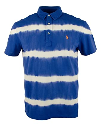 1d6e5e64c9c Ralph Lauren Polo Men s Regular Fit Tie-Dyed Featherweight Polo (Small