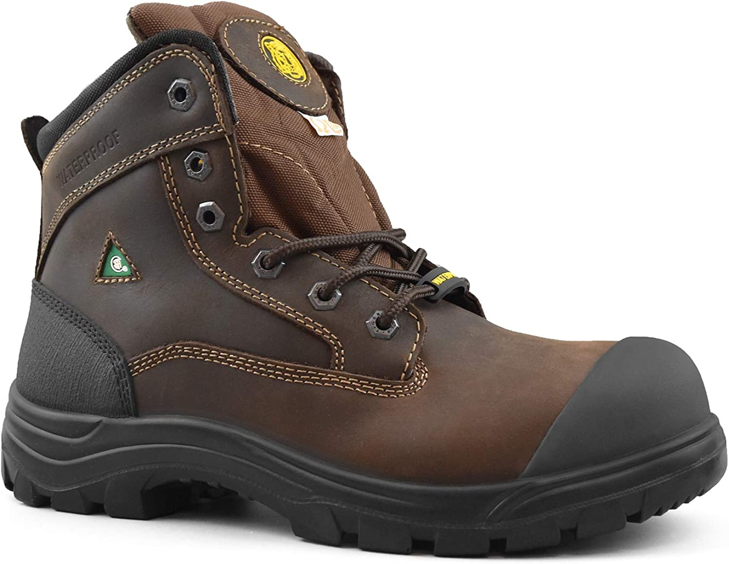 Mens Work Boots Safety Shoes Steel Toe Cap Lightweight Outdoor hiking waterproof