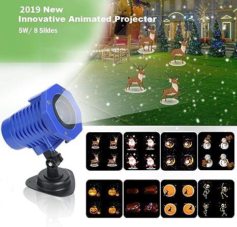 Amazon.com: Shineart - Proyector de luz para Navidad ...