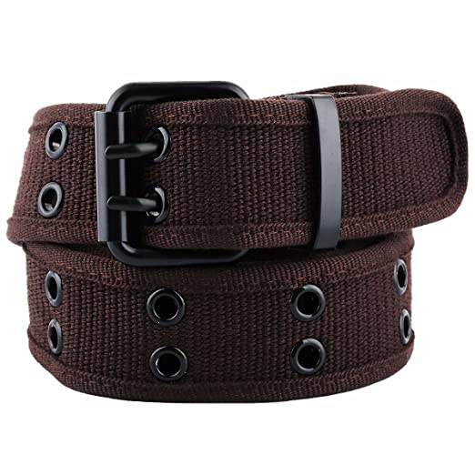 Samtree Canvas Web Belts for Men Women c820ee549cf