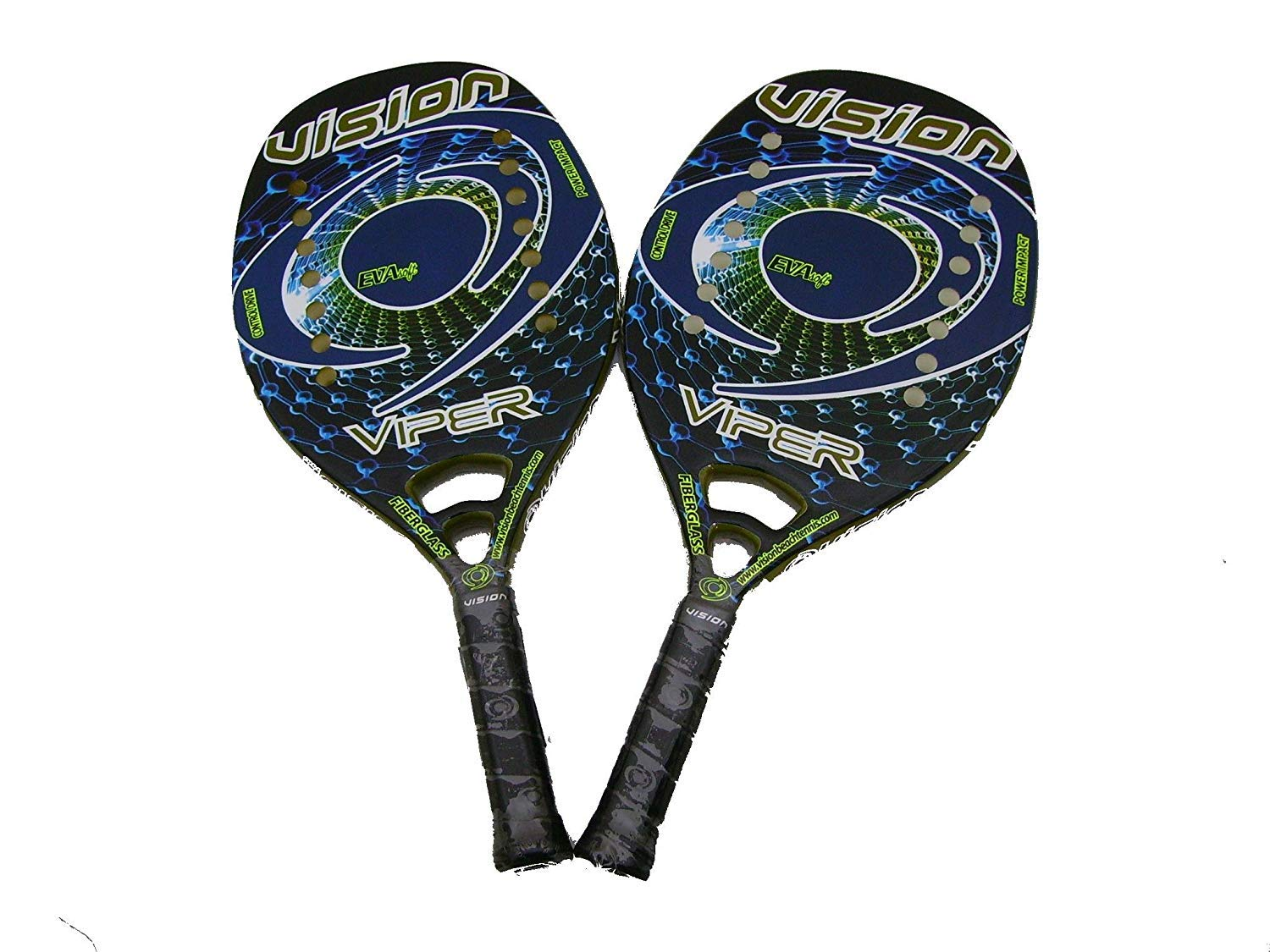 Pareja Raquetas Beach Tennis Vision Viper 2018: Amazon.es ...