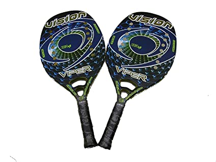 Pareja Raquetas Beach Tennis Vision Viper 2018: Amazon.es ...