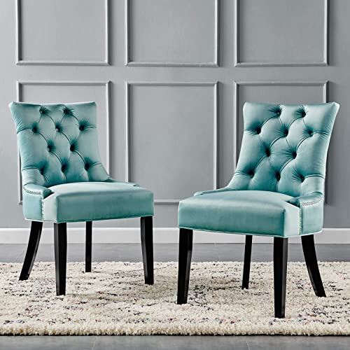 Modway Regent Tufted Performance Velvet Dining Side Chairs