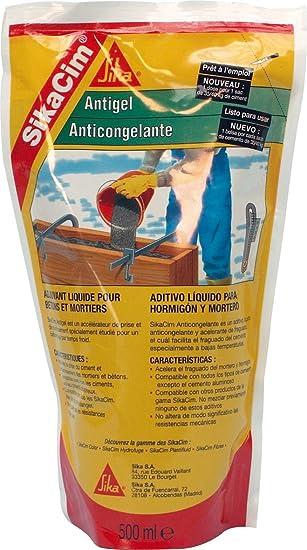 SikaCim Anticongelante, Aditivo anticongelante para mortero y ...