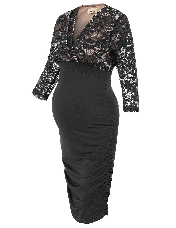 GRACE KARIN DRESS レディース B07GBSGTHL Small|ブラック ブラック Small