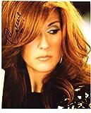 SUPERB CELINE DION SIGNED 10 x 8 PHOTO + COA!!!