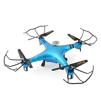 GizmoVine 6-Ejes Cuadcóptero XBM-50 4 Canales de 2.4Ghz Dron RTF ...