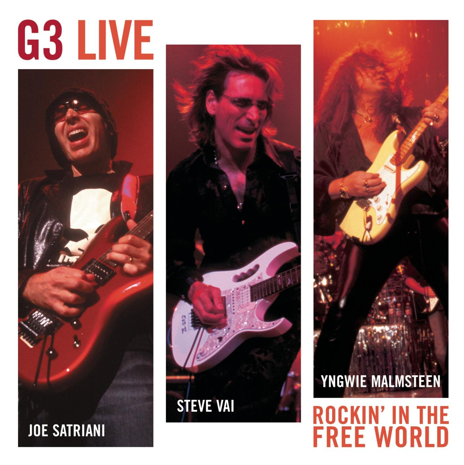 G3 Live:  Rockin' in the Free World by Sony Legacy