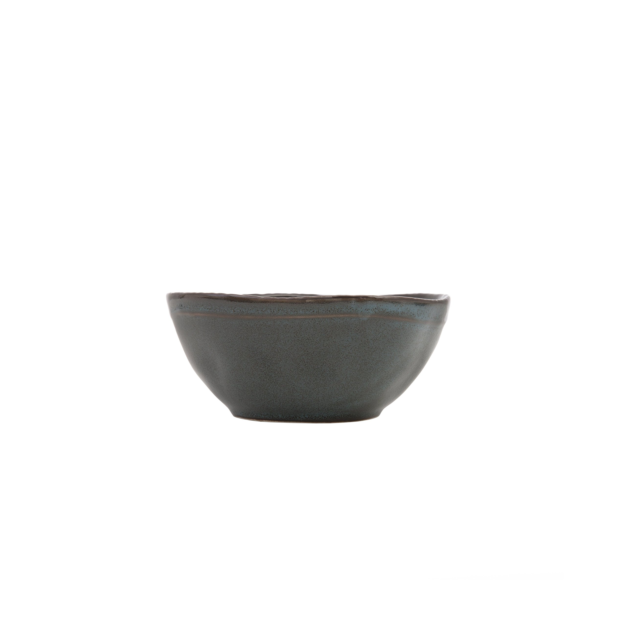 D&V 6 Piece Stōn Porcelain Dinnerware Bowl Set, 5.5'' x 2.5'', Twilight