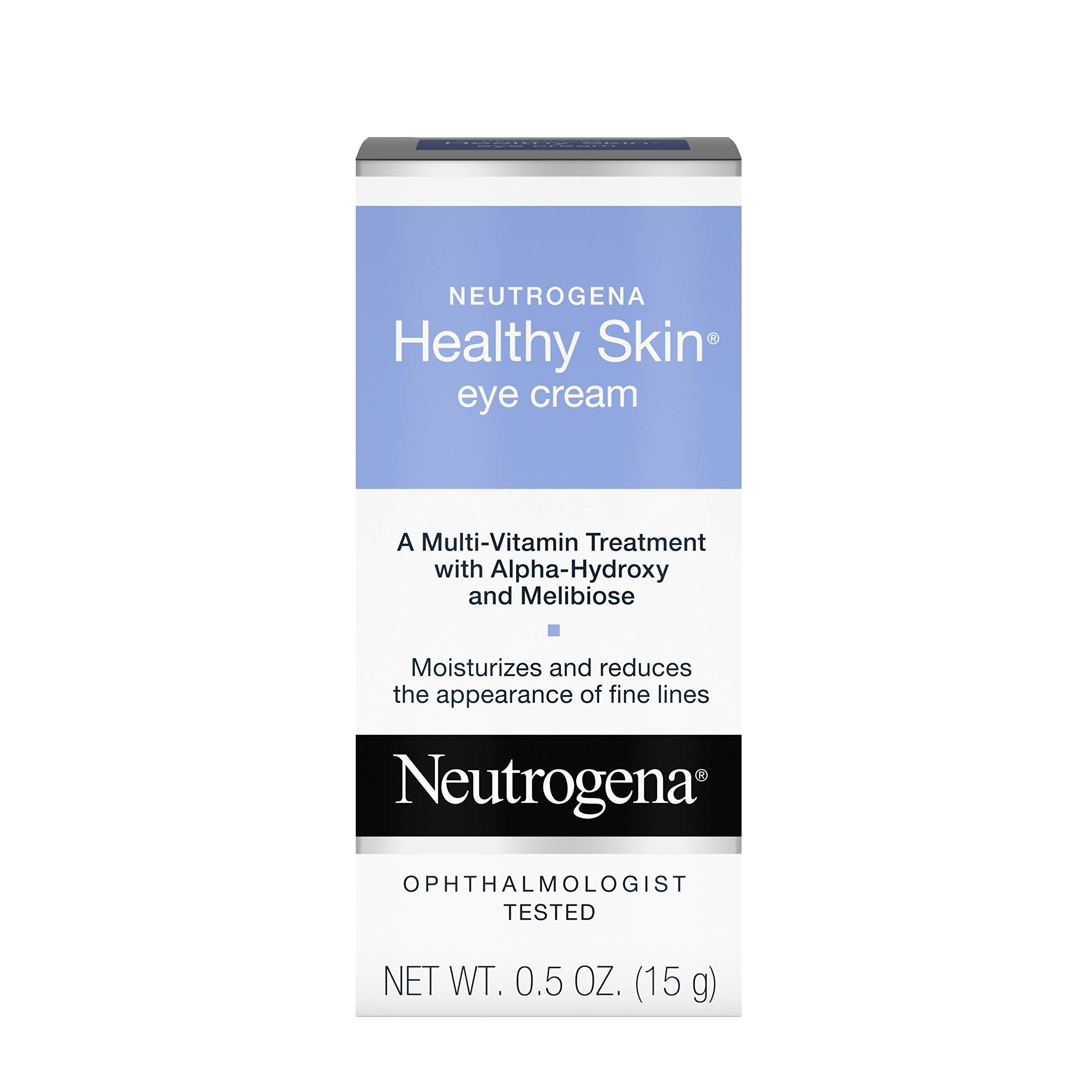 Neutrogena Healthy Skin Anti Wrinkle Eye Cream With Alpha Hydroxy