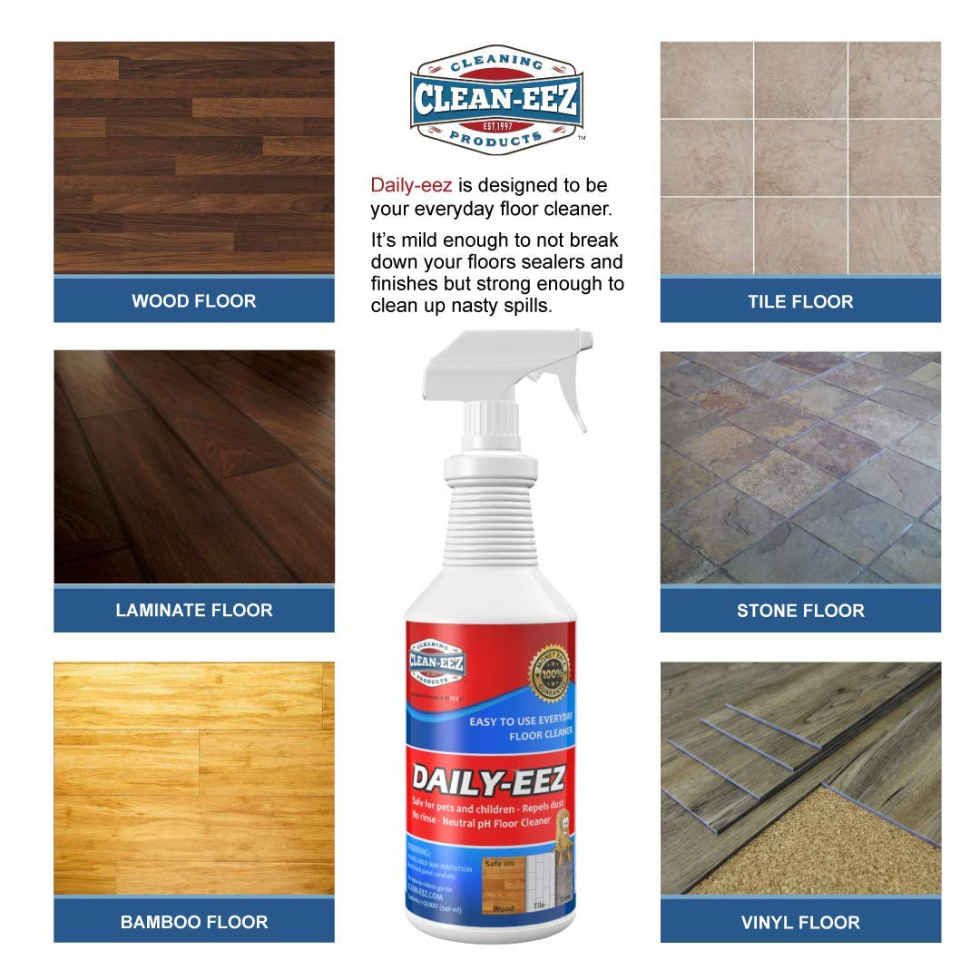 Amazon Com Daily Wood Laminate Tile Stone Floor Cleaner From