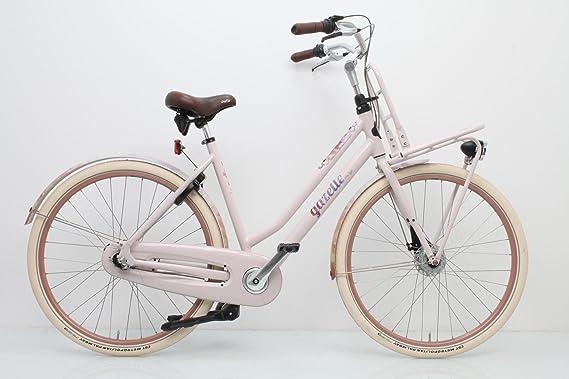 Gazelle Bicicleta Holandesa Miss Grace 7 – Mujer de Pesca Color ...