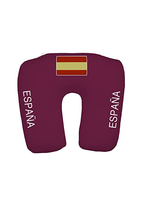 Travelstar TS-F-1001 2-in-1 Camiseta-Almohada España, fútbol ...