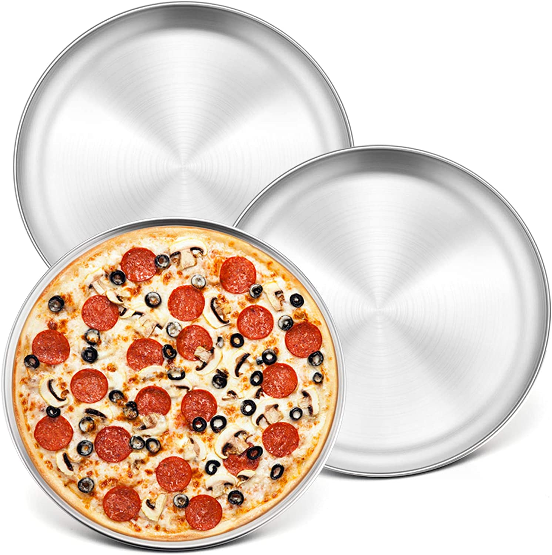 10 piece pizza plate professional quality onion cake tin round Ø 28 cm Gastlando