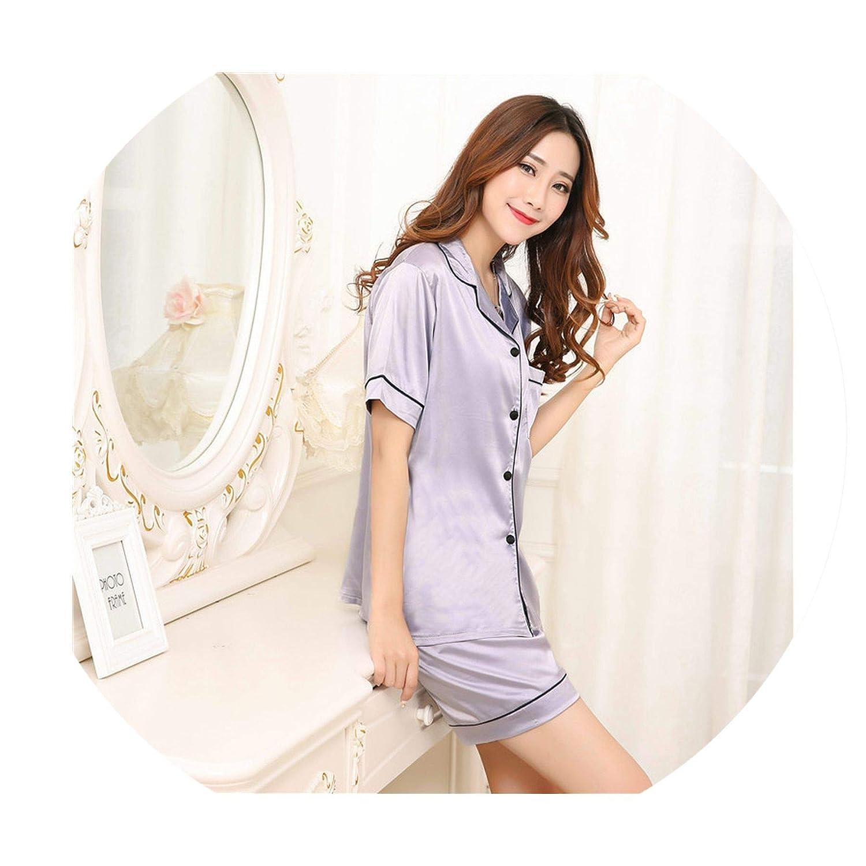 Toping Fine Long Sleeve Silk Women Lounge Pajama Sets Silk Satin Pijama Sleepwear Pyjamas