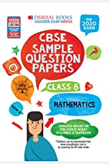 Oswaal CBSE Sample Question Papers Class 8 Mathematics (For March 2020 Exam) Kindle Edition
