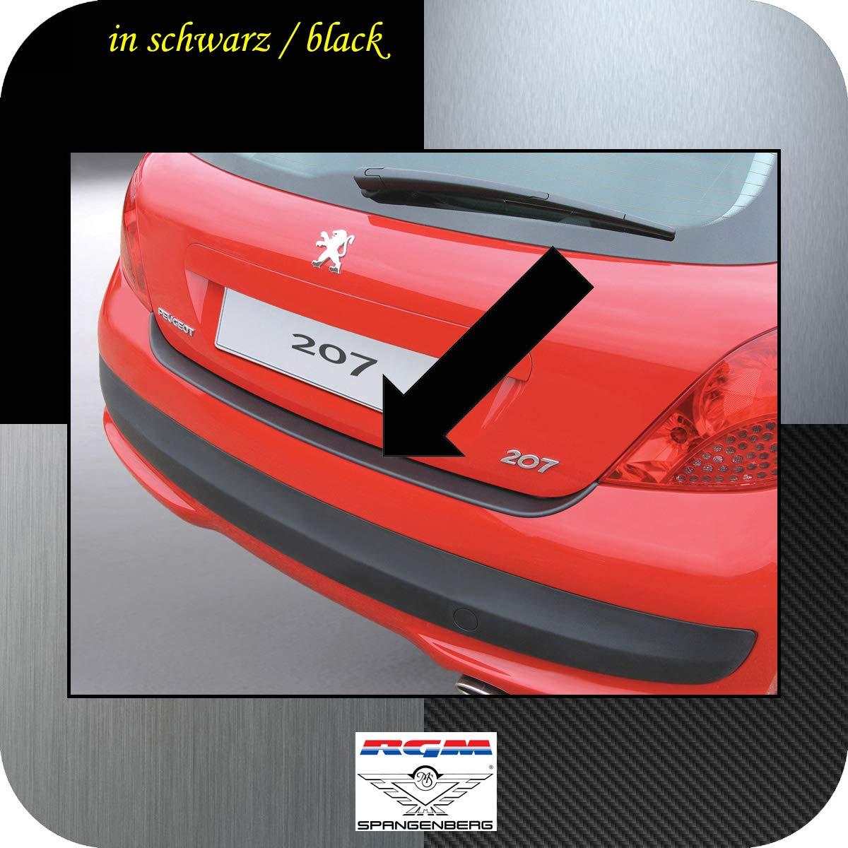 Richard Grant Mouldings Ltd. Original RGM ladekant Protección Negro para Peugeot 207 Hatchback de 3 y 5 Puertas (Modelos a Partir de año 02.2006 rbp292: ...