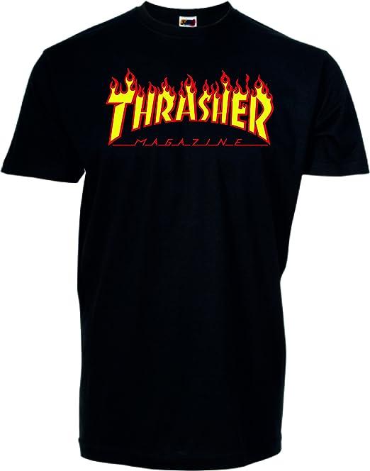 NADA Camiseta Replica Logo Thrasher (XS)