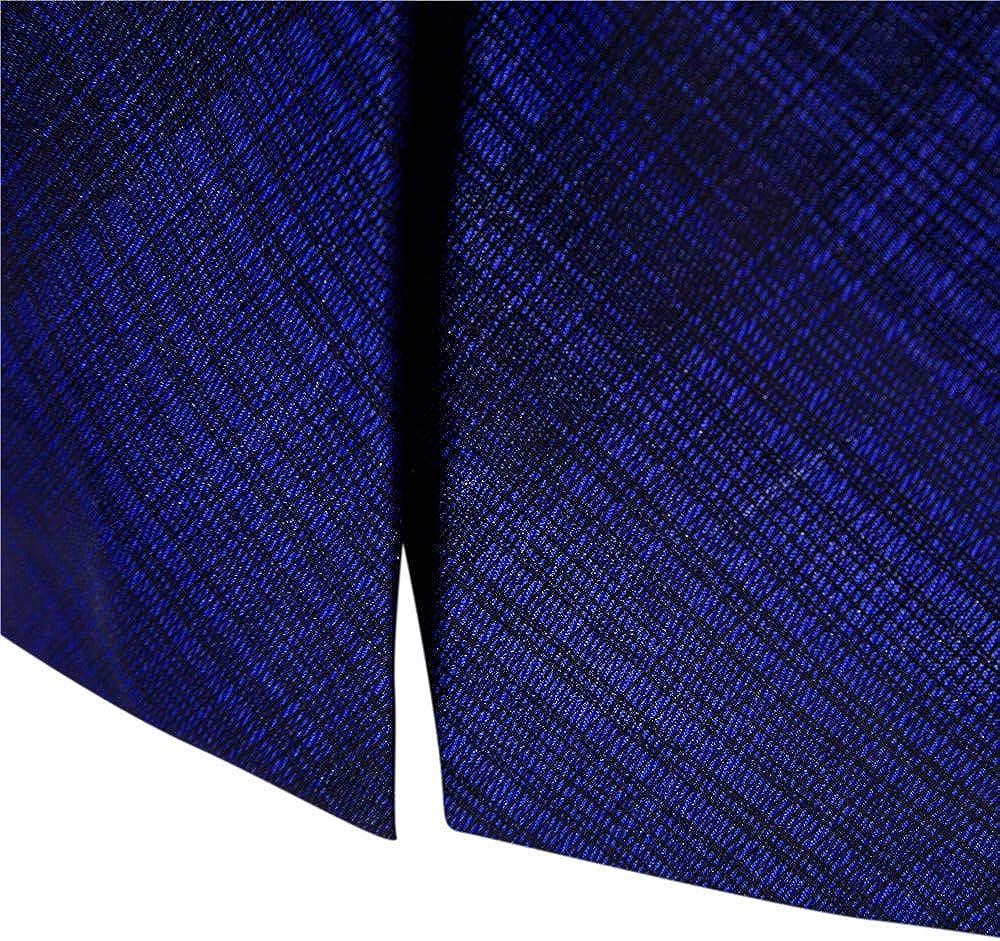 Sannysis L/ässiger Blazer Herren Slim Fit Charm M/änner Casual 1 Button Fit Anzug Blazer Mantel Jacke Gedruckt Tops Suits